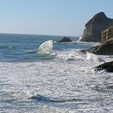 Clapotic waves, Fletchers Beach