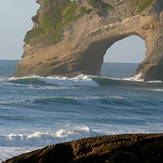 Archway Islands at Wharariki, Wharariki Beach