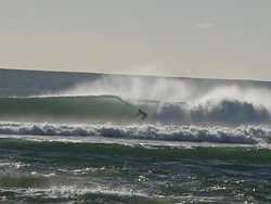Right hander at the rivermouth, Scamander Rivermouth photo