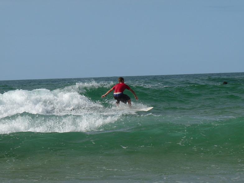 NICO RIDES AGAIN, Playa de Somo