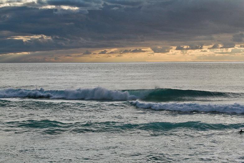 wave machine, Ammes Beach