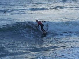 surf local, Playa Teta