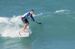 SUP Surfing, Melbourne Beach photo