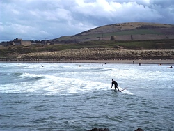 Good Surfing Day, Sandend Bay photo