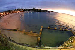 morning shimmer, Coogee photo