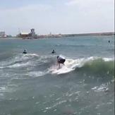Mañana de surf en cabopino Olds crazy sufers marbella, Puerto Cabopino