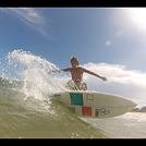 Ian Devine surfing