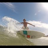 Ian Devine surfing, Ponte Vedra