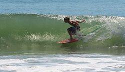 Zach attack, The Pier photo