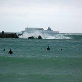 Lyall Bay breakwater