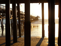 Low Tide, San Clemente Pier photo