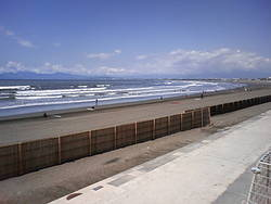 A shonan beach photo photo