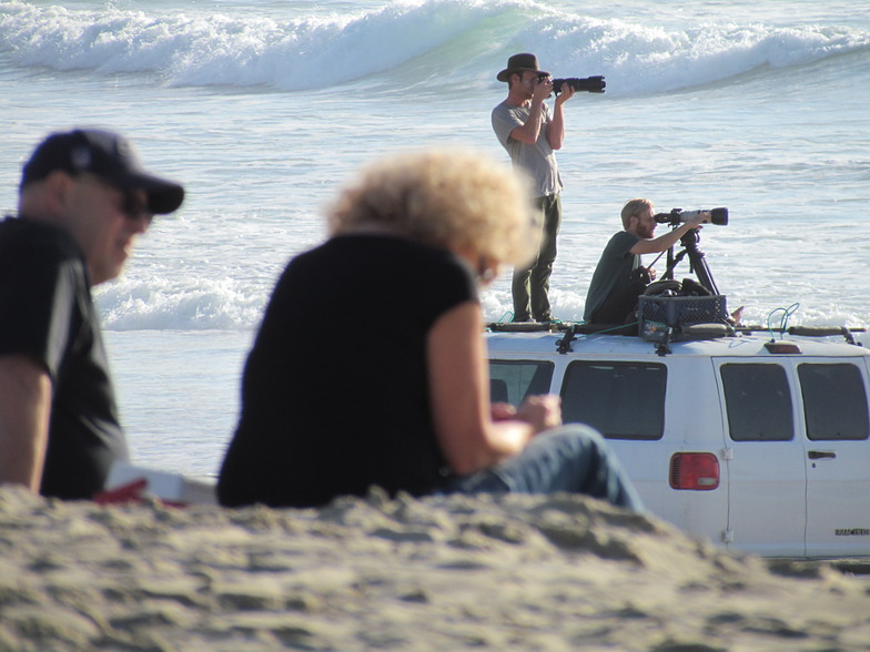 photogs at the beach, Pacific City/Cape Kiwanda