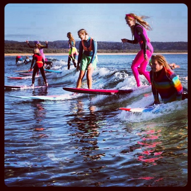 Fluro Friday Party Wave., Tathra