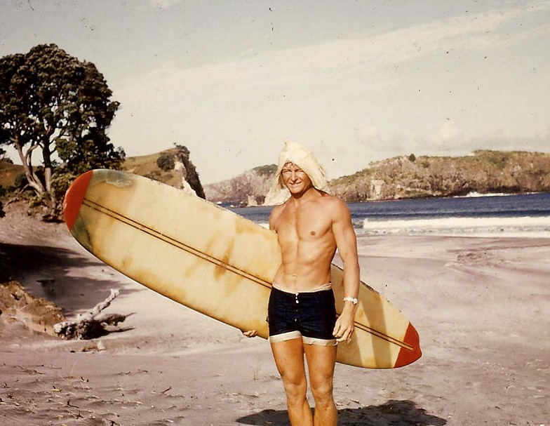 Mike Gardner - Surf Legend from Way back..., Medlands Beach