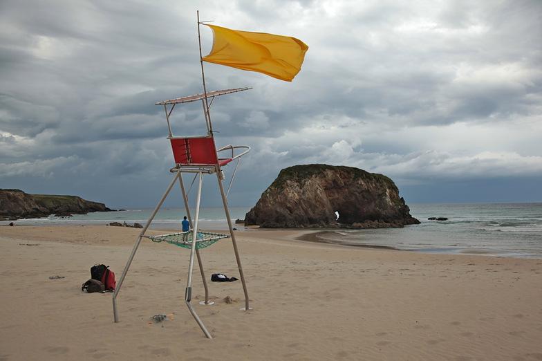 Peñarronda scenery, Playa de Penarronda