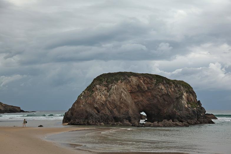 Mind the gap, Playa de Penarronda