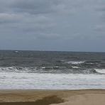 Big waves from NE, 7 Presidents Street Park