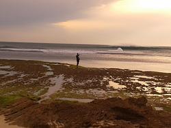 Heaving, Portsea Back Beach photo