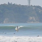 Typhoon Swell, Tsujido Beach