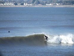 A good day surfing - unknown surfer, Ogmore-by-Sea photo
