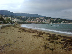 Lavandou looking East, Le Lavandou photo