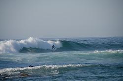 After the the big drop, Praia do Bordeira photo