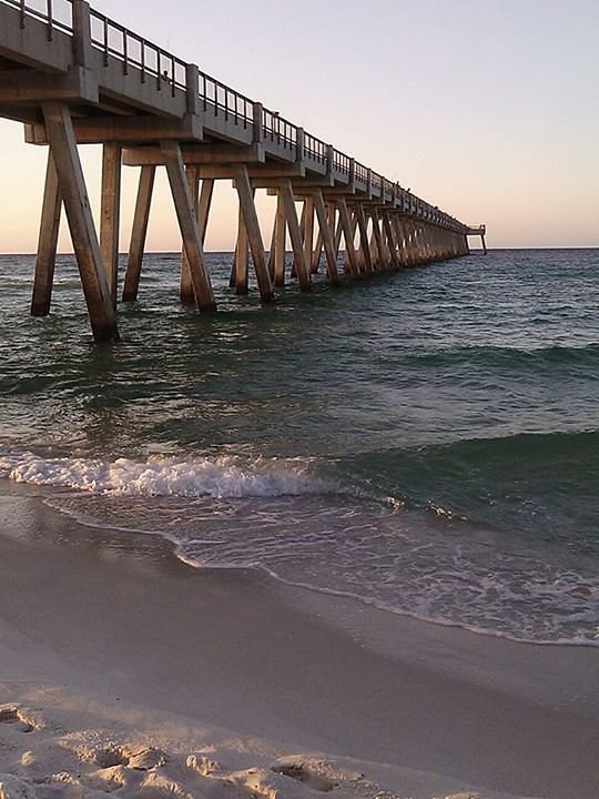 Beach Pier Home Decor For Living Room: Navarre Beach Pier Surf Photo By Jamie Garland