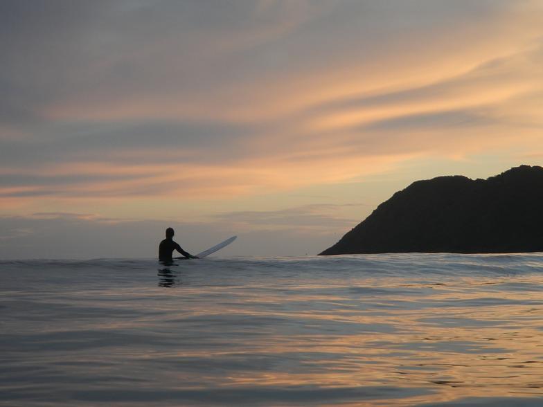 Sunset Surf, Lyall Bay