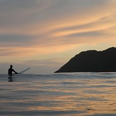 Sunset Surf, Lyall Bay