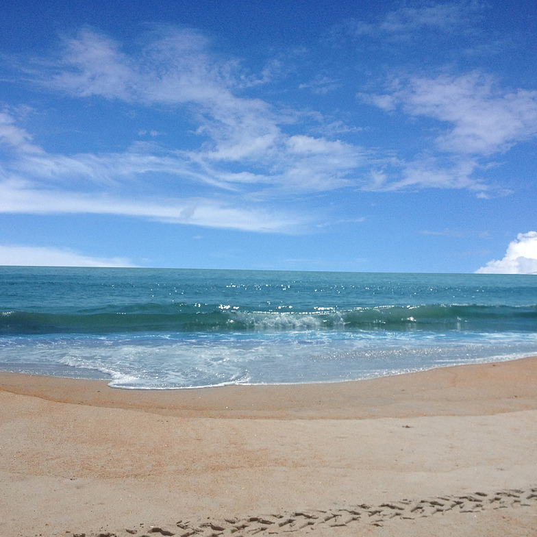 Beautiful Blue Water, Matanzas Inlet