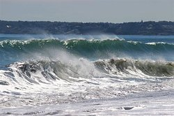 "Double Wave at ""Nanny"", Nantasket Beach photo"