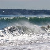 "Double Wave at ""Nanny"", Nantasket Beach"