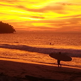 sunset at the surf shack, Kudat
