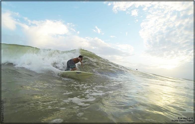 Hit mañanero, Playa Parguito