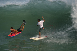 Palmar point swell, El Palmer photo