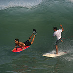 Palmar point swell, El Palmer