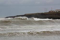 Huge Swell in March 2012 at Pont Blondin photo