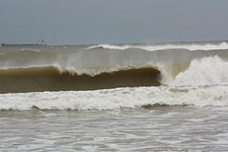 Huge Swell in March 2012 at Sablettes, Les Sablettes photo