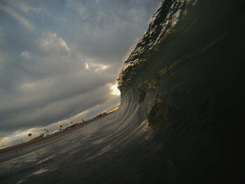 sunrise, Seal Beach Pier