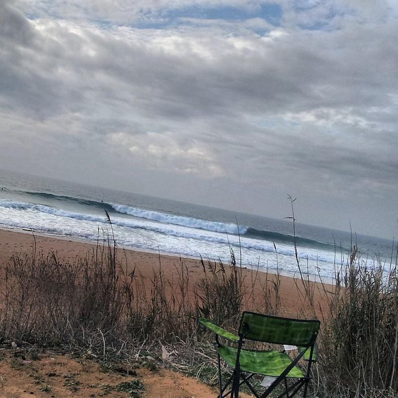 swell palmar, Playa El Palmar