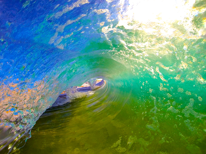 Color Tube, Sandy's Beach
