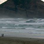 North swell, Wharariki Beach
