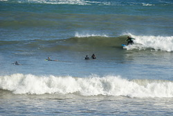 Surfer en cadavedo, Playa de Cadavedo photo