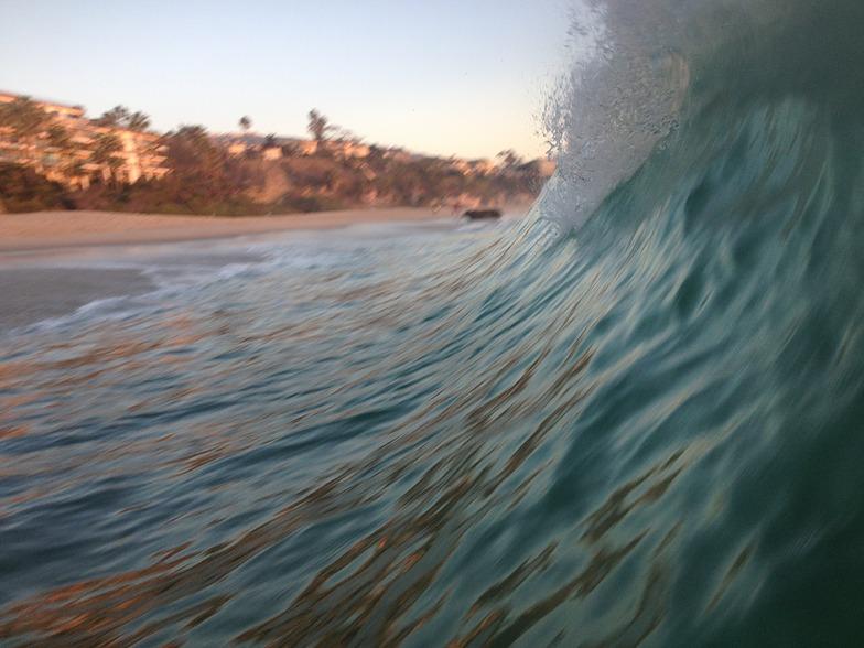 Catched wave, Laguna Beach