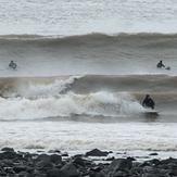 Surf Lynmouth Devon NYD 2014