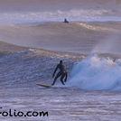 Big waves at Oxwich, Oxwich Bay