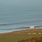 Clean lines, couple of takers, Ogmore-by-Sea