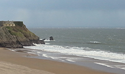 Not working, Tenby (South Beach) photo