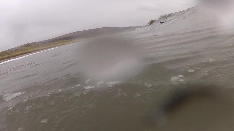 stormy, Oxwich Bay